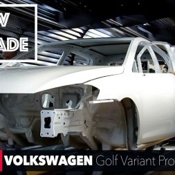 HOW IT'S MADE: Volkswagen Golf Variant