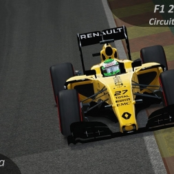 Assetto Corsa F1 2017 Hülkenberg testing Renault R.S.16 Onboard