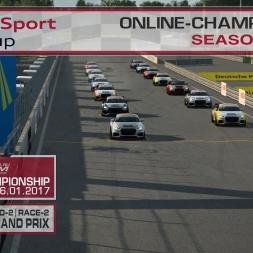 RaceRoom | Audi TT'15-16/S1: Online Championship`17 (R-2/Race-2 Norisring)