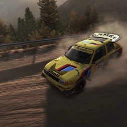 DIRT RALLY-Dakar In Greece (Peugeot 205 T16 Dakar)