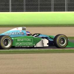 F1 1994 Michael Schumacher Benetton @ Imola (Assetto Corsa Mod) | SrPetete