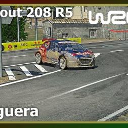 WRC 6 - La Figuera - Peugeout 208 R5