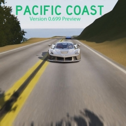 Pacific Coast (v0.699) Preview 2 - Assetto Corsa