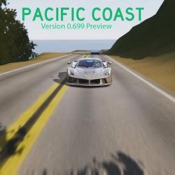 Pacific Coast (v0.699) Preview 2 - Assetto Corsa