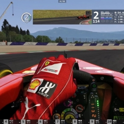 Assetto Corsa Online Race F138 Red Bull Ring Win !!!