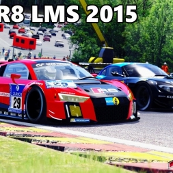 Assetto Corsa - Audi R8 LMS 2015 mod - Good and bad Weathers Graphics mod 1440p