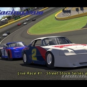 Live Race #1 - Street Stock Series @ Charlotte