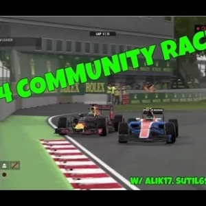 PS4 Community Race Highlights W/ AliK17, Sutil69FU + More!