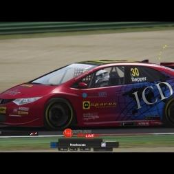 BTCC / Imola / Manga 1 / Race / Multiplayer / Assetto Corsa