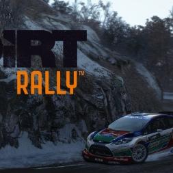 DiRT Rally - Col de Turini Descente - Ford Fiesta WRC - 03:01.426