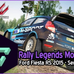 ASSETTO CORSA | RALLY LEGENDS MOD | FORD FIESTA RS 2015 - SEMETIN  ESPAÑOL HD -