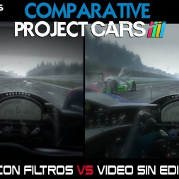 Oculus Rift Comparativa - Editado Vs Real - Project Cars