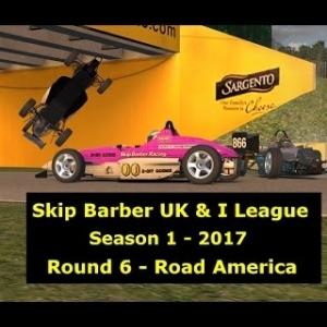 iRacing - Skip Barber UK & I League -  Round 6 S1 2017 @ Road America