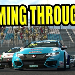 Intense argy bargy multiplayer racing driving the Chevrolet Cruze WTCC at Eurospeedway Lausitz...