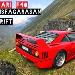 VR [Oculus Rift] Ferrari F40 Sunday Drive @ Transfagarasan - Real Traffic | Assetto Corsa Gameplay