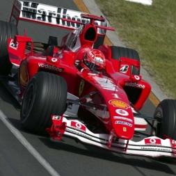 Assetto Corsa 1.11.4 MICHAEL SCHUMACHER FERRARI F2004 IMOLA GP BONUS VIDEO