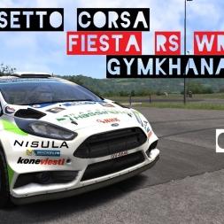 VR [Oculus Rift] Ford Fiesta RS WRC Gymkhana @ Miseluk | Assetto Corsa Gameplay
