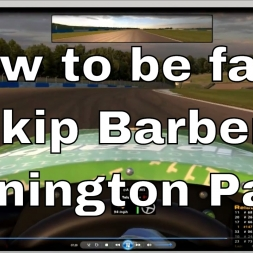 How to be fast at Donington in the Skip Barber on iRacing