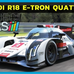 Project Cars - Audi R18 E-Tron Quattro at Le Mans (PT-BR)