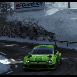 RaceDepartment Rally Championship | Dirt Rally | Rally Monte Carlo | Balazs Toldi OnBoard