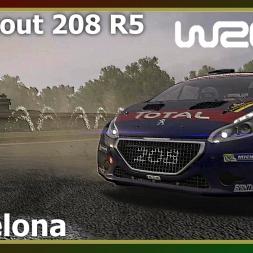 WRC 6 - Barcelona - Peugeout 208 R5