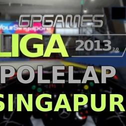 F1 2013 | LIGA 2013 (2.0) | Singapur | Polelap | 1.38,655