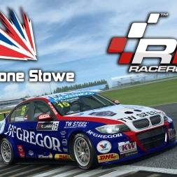 RaceRoom Racing | BMW E90 320 TC @ Silverstone Stowe Circuit