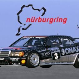 ► Assetto Corsa Mercedes DTM 1982 sur le Nürburgring GP