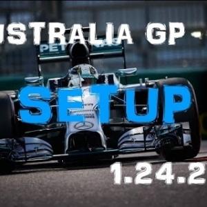 F1 2016 - Australia GP - Mercedes - Setup (1.24.235) No Assists.