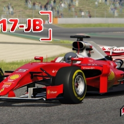 Assetto Corsa * F1 2017 Ferrari SF17-JB beta * Barcelona test day