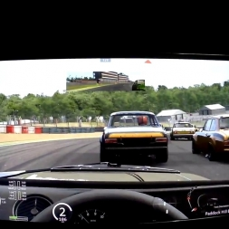 Assetto Corsa Helmet cam[FPV] Multiplayer Ford Escort @ Brands Hatch Indy Race 1 of 2
