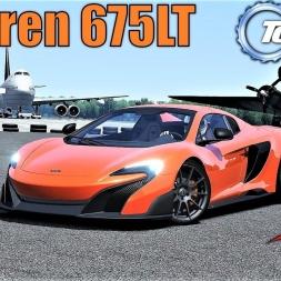 Mclaren 675LT Spider HOTLAP at TOP GEAR Test Track - Assetto Corsa (Mod Download)