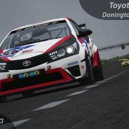 Assetto Corsa Toyota Corolla SP3 vs. Donington Park National