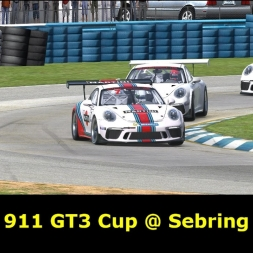 iRacing - Porsche 911 GT3 Cup @ Sebring - FIRST LOOK