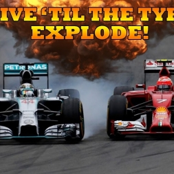 DRIVE 'TIL THE TYRES EXPLODE!