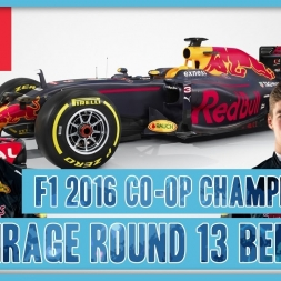 TwinRaGe Youtube Co-op Championship F1 2016 - Round 13 Belgium