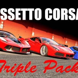 Assetto Corsa | Triple Pack | All Cars | POV