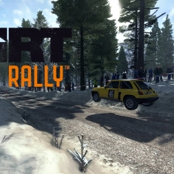 DiRT Rally - Stor-Jangen Sprint Reverse - Renault 5 Turbo - TOP 5 03:25.858