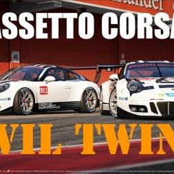 Assetto Corsa   Porsche GT3 R 2016 & Porsche GT3 Cup 2017   Evil Twins   POV