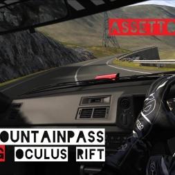 VR [Oculus Rift] Toyota AE86 DRIFTING Transfagarasan Downhill | Assetto Corsa Gameplay