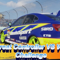 The Great Controller VS Wheel Challenge