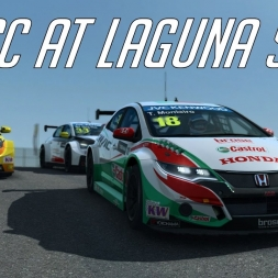 WTCC AT LAGUNA SECA - Civic WTCC Race Room racing Experience