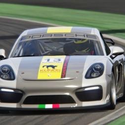 Baseline setup: Porsche Cayman GT4 Clubsport