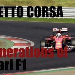 Assetto Corsa | Ferrari F138 vs Ferrari SF15-T | 2 Generations of Ferrari F1 | POV