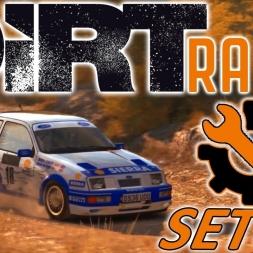 DiRT Rally | Ford Sierra Cosworth Setup | Greece | Wheel & Controller [4K]