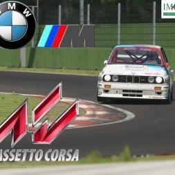 Assetto Corsa :: BMW M3 E30 DTM Roberto Ravaglia Team Schnitzer - Imola