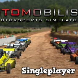 Automobilista | Singleplayer | Formula Dirt Series @ Ascurra