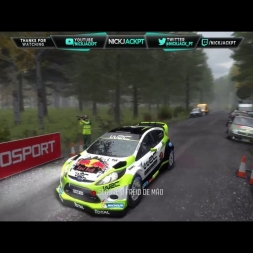 Dirt Rally Liga Tugas on race