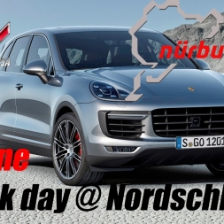 Assetto Corsa | Online | Porsche Cayenne Turbo S | Took the whale to a Trackday @ Nordschleife