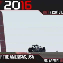 F1 2016 // Ramteam F1 2016 League S1, R18 - USA [60fps]